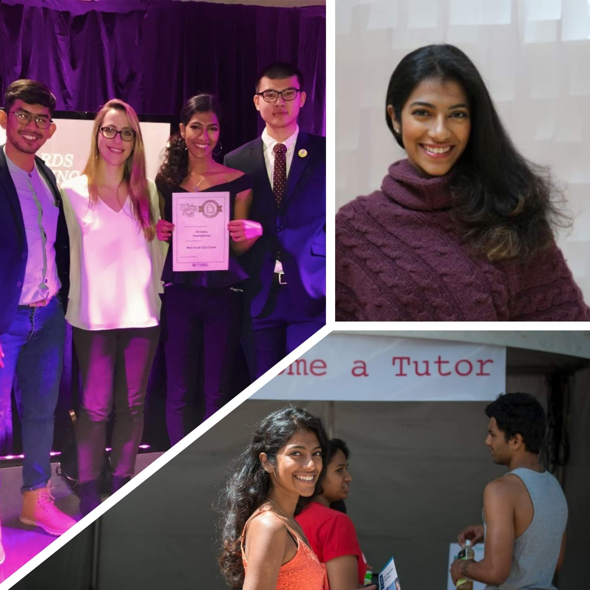 'Alumna Sherine Abraham Was Recognised As An Emerging